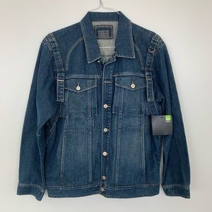 Girbaud Jean Jacket with metal buttons